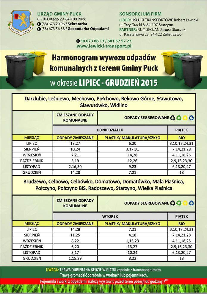 Harmonogram lipiec-grudzień 2015-1