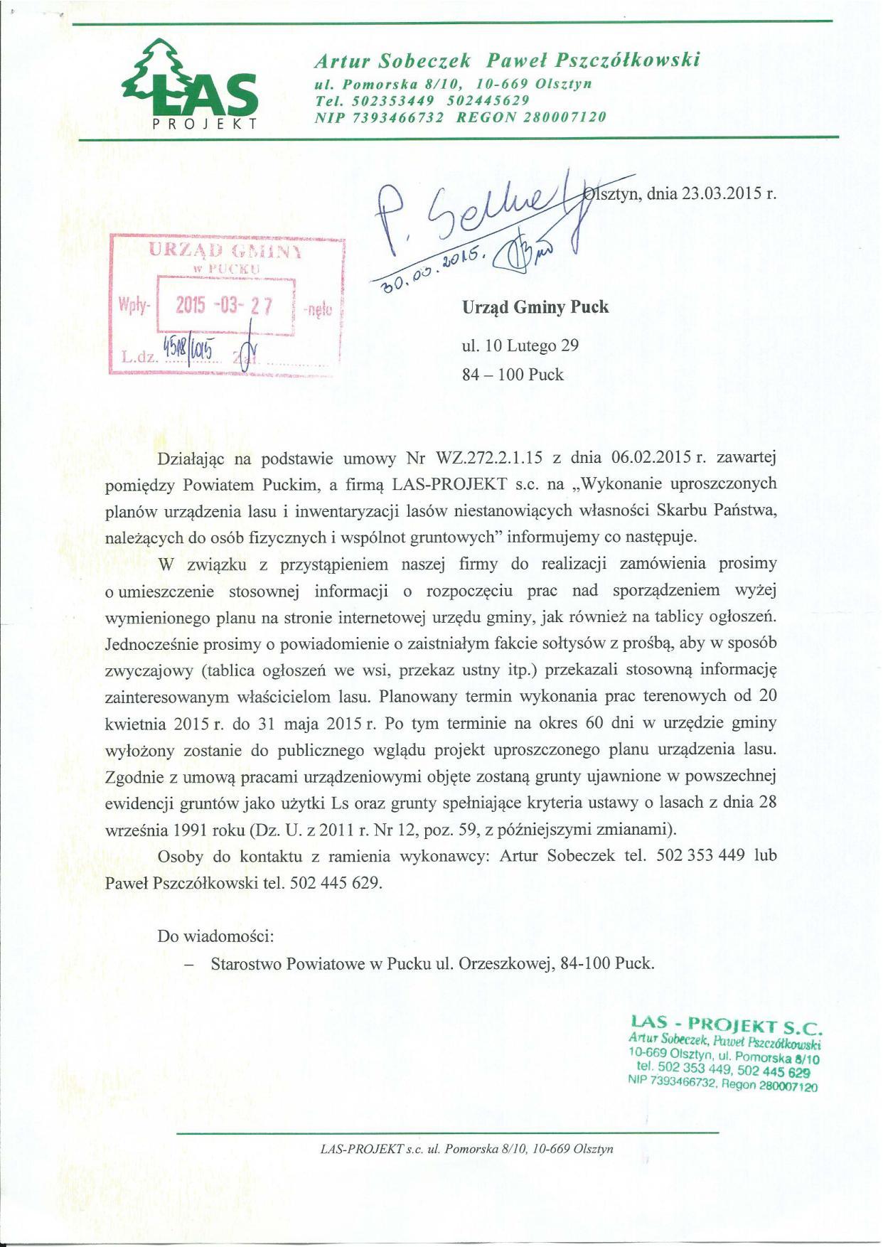 Pismo dot. inwentaryzacji lasów_23.03.2015 r._01