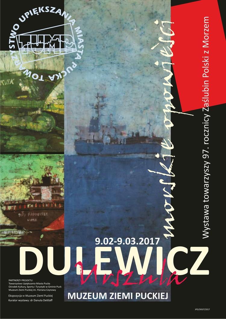 wystawa marynistyczna_Dulewicz.plakat_01