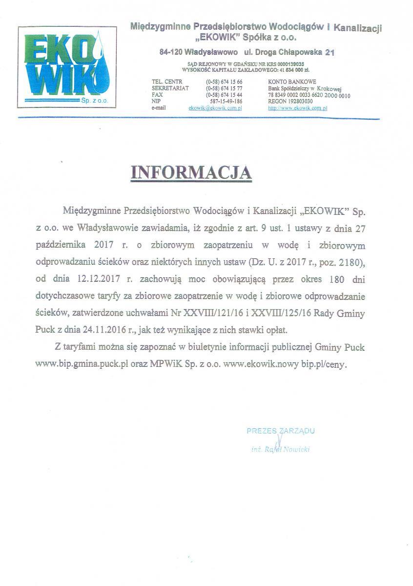 Informacja EKO-WIK_1_2017