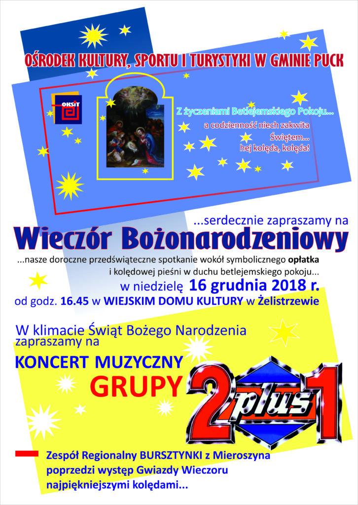 Zaproszenie Bożonar.2018.plakat.